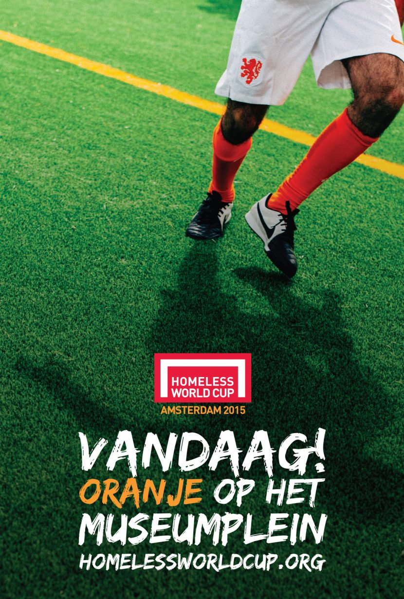 Homeless World Cup - Telegraaf.nl Advert
