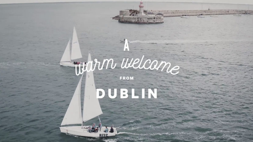 A warm welcome from Ireland – Dublin's Forty Foot