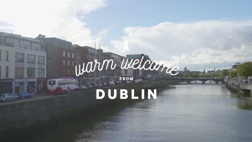 A warm welcome from Ireland – The Brazen Head